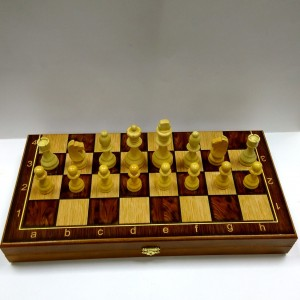 Подарочный набор 3 игры в 1 комплекте, размер доски 40 х 40 см.